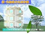 フォトエコロジー 空気清浄機 24個の穴 フォトエコ 最大24畳まで対応 PhotoEco 花粉症 シックハウス対策 光触媒空気清浄機