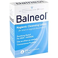 Balneol Hygienic Cleansing Lotion Convenience Packets, 20 Packets by Balneol