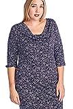 Marcelle Margaux DRESS レディース US サイズ: 4X Plus カラー: パープル