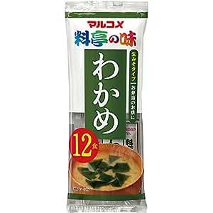 マルコメ 生みそ汁 料亭の味わかめ 12食×12袋