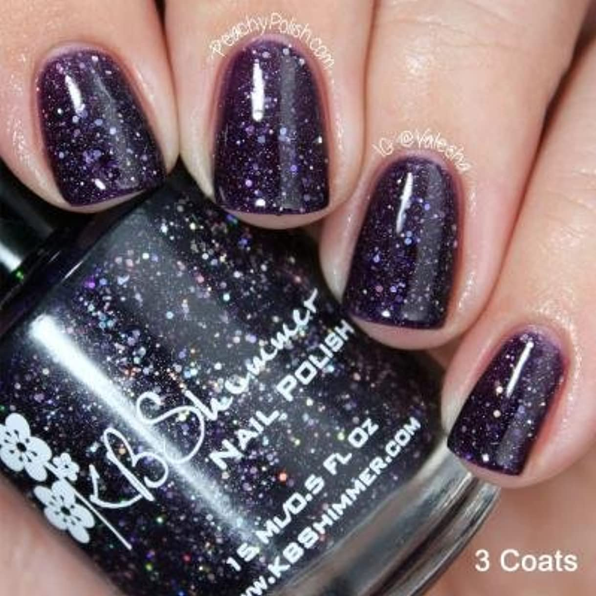 KBShimmer*Witch Way Glitter Nail Polish 【並行輸入品】