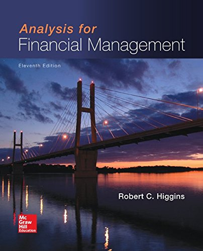 Download Analysis for Financial Management (Mcgraw-hill/Irwin Series in Finance, Insurance, and Real Estate) 0077861787