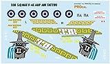 プロカルデカール 1/32 ギリシャ空軍 F-4Eファントム 第338攻撃飛行隊 2017 エアタトゥー プラモデル用デカール PRD32-901