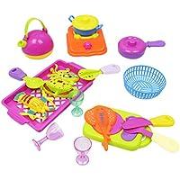 B Baosity 18個 キッチン 子供のため 教育用おもちゃ シーフード調理器具セット