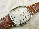ロンジン レディース モデル アンティーク 女性用 絹目バイアス文字盤 手巻き式 時計 中古品