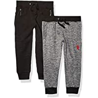 U.S. POLO ASSN. Boys 2 Pack Fleece Jogger Pant Pants