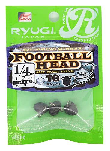 リューギ(RYUGI) フットボールヘッドTG 1/4oz 7g. SFH086