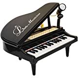 BAOLI 31 Keys Mini Playing with Microphone Piano for Kids Connect Mp3 Electronic Organ Music Keyboard Colorful Rhythm Light 3 Teaching Modes
