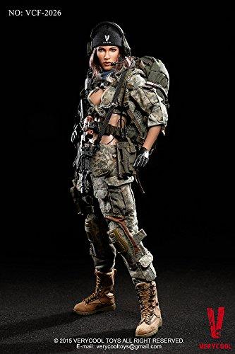 ベリー・クール 1/6スケールアクションフィギュア アメリカ陸軍 女性狙撃兵 ACU迷彩服(VCF-2026)