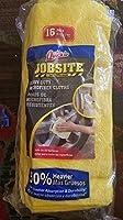 Quickie Jobsite Heavy Duty Microfiber Cloths 16パック。14Inchx 14インチ