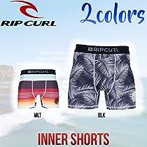 【RIP CURL】リップカール2016春夏 メンズインナーパンツ サーフィン プール 海パン 水着 プリント柄 BLK M