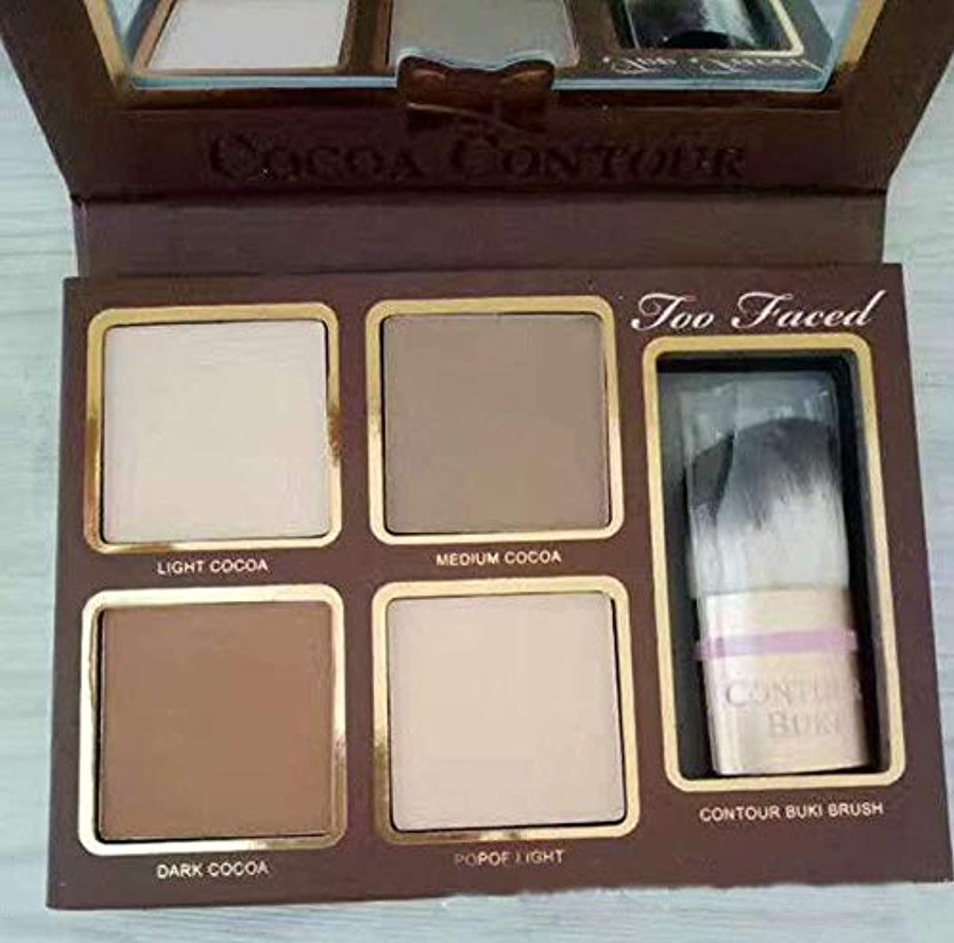 FidgetGear 4色アイシャドウチョコレート化粧品メイクアップパレットアイシャドウマットシマー