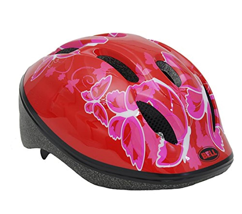 BELL(ベル) ヘルメット 自転車 サイクリング 子ども用 ZOOM2 [ズーム2 レッドバタフライ  7072837] M/L (頭囲 52cm~56cm)