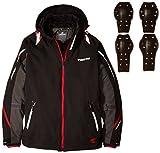 RSタイチ(アールエスタイチ)バイクジャケット ブラック/グレー (M) アビエイター オールシーズンジャケット RSJ712