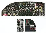 ヤフーモデル 1/48 ボーイング B-17G 着色計器盤 (HKモデル用) プラモデル用パーツ YMA4884