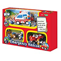 WOW Toys Emergency Rescue 3-in-1 Multipack [並行輸入品]