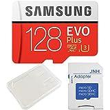 Samsung サムスン EVO Plus UHS-I U3 4K対応 microSDXC 128GB + SDアダプター + 保管用クリアケース [並行輸入品]