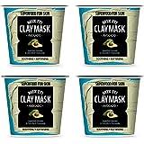 [FARMSKIN] ファームスキン スーパーフード ミックスクレイ クレイパック クレイマスク モデリングパック マスクパック 保湿マスク 水分マスク 栄養たっぷり セルフケア アボカド Clay Mask Avocado (4個セット)