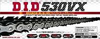 D.I.D(大同工業)バイク用チェーン カシメジョイント付属 530VX-120ZB STEEL(スチール) X-リング 二輪 オートバイ用