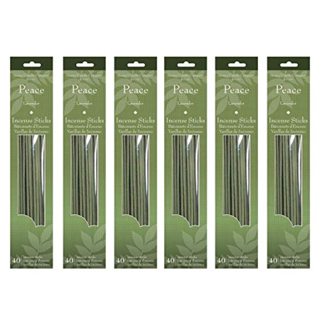 高い東部バケットHosley 's 240 Incense Sticks/約240 gm。ラベンダー(平和) Highly Fragranced Incense。手Fragranced、Infused with Essential Oils。o7