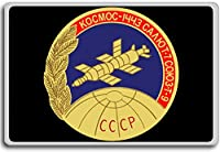 Soyuz T9 - Early Soyuz Mission Patches, Insignia fridge magnet - 蜀キ阡オ蠎ォ逕ィ繝槭げ繝阪ャ繝