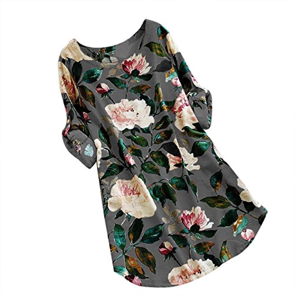 幻想的体系的にリフトワンピース レディース Rexzo 大きいサイズ 人気 花柄 綿麻スカート 袖あり 上品 リネンワンピ 膝丈 着痩せ 体型カバー ロングスカート 森ガール 癒され系 スカート 事務服 デート 日常