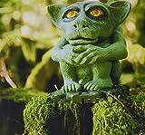 コロンビア 3dRose LLC 8 x 8 x 0.25 Inches Mouse Pad Troll Statue in the Forest British Columbia Canada-Cn02 Kpi0004 - Kristin Piljay (mp_75300_1) [並行輸入品]