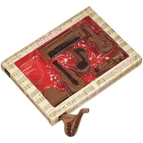 (バウアー) Baur フィギュア チョコレート セット バレンタイン チョコ ギフト (ミュージック)