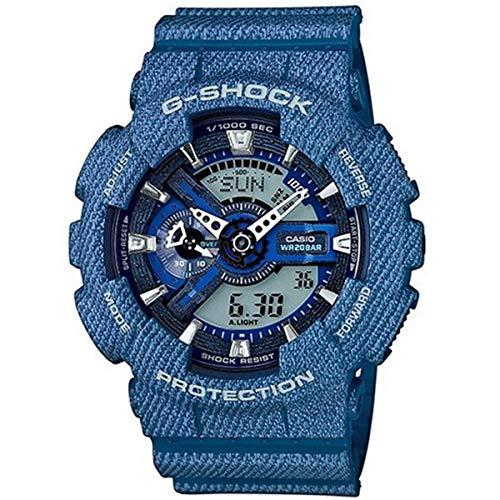 『カシオ Gショック G-SHOCK アナデジ デニムカラー メンズ 腕時計 GA-110DC-2A デニムブルー [並行輸入品]』のトップ画像