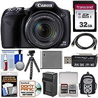 Canon PowerShot sx530HS Wi - Fiデジタルカメラwith 32GBカード+バックパック+バッテリー&充電器+ Flex三脚+キット