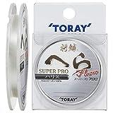 東レ(TORAY) ハリス 将鱗 へら スーパープロフロロ ハリス フロロカーボン 75m 0.4号 ナチュラル
