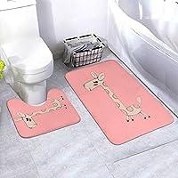アニメマットツーピースフットパッド速乾性吸水抗菌カビふわふわクレンジングテーブル寝室滑り止め(61 * 90 Cm)