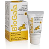 BioGaia Protectis Probiotics Drops with Vitamin D for Baby, Infants, Newborn and Kids Colic, Spit-Up, Constipation and Digest