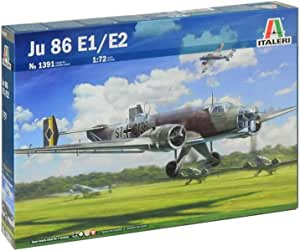 タミヤ イタレリ 1/72 飛行機シリーズ No.1391 ドイツ空軍 ユンカースJu86 E1/E2 プラモデル 37191