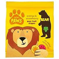 純粋なフルーツ足サファリ20グラムを負担 (x 2) - Bear Pure Fruit Paws Safari 20g (Pack of 2) [並行輸入品]