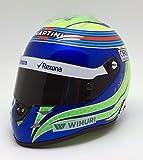 【 Schuberth 】 1/2 シューベルト フェリペ・マッサ ウィリアムズ Felipe Massa Williams FW38 formula 1 2016 helmet