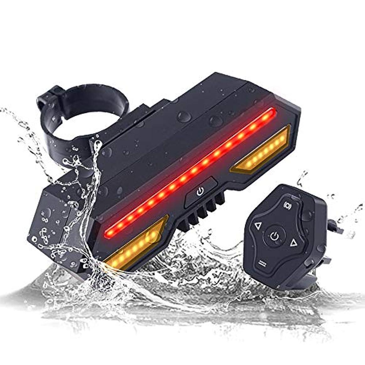 ドック買い手部族自転車テールライト、USB 充電式安全警告ストロボヘッド光市通勤自転車ウインカー