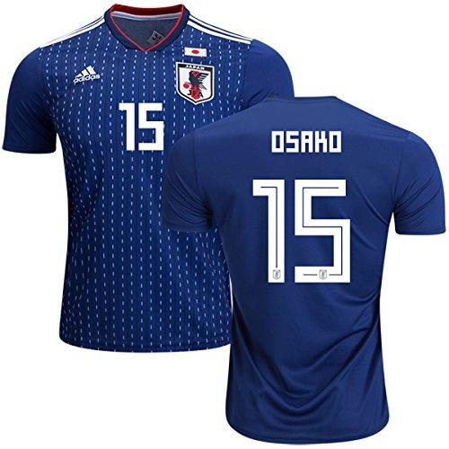 サッカー日本代表ワールドカップ2018ホーム半袖ユニフォーム#15大迫勇也