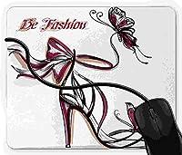 マウスパッド ピンク, 疲労低減 ワイヤレスマウスパッド 耐久性が良い 滑り止めゴム底 滑りやすい表面 マウス用パット 1D23