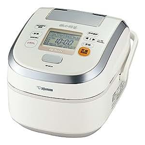 象印 圧力IH炊飯器  鉄器コート極め羽釜 5.5合 プライムホワイト NP-WD10-WZ