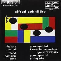 Piano Quintet / Kanon In Memoriam Igor Stravinsky / Piano Quartet / String Trio (1993-06-23)