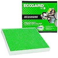 EcoGard XC25869H 高効率プレミアムキャビンエアフィルター + ベーキングソーダ ドッジ ジャーニー アベンジャー キャリバー ジープ パトリオット コンパス クライスラー 200 Sebring