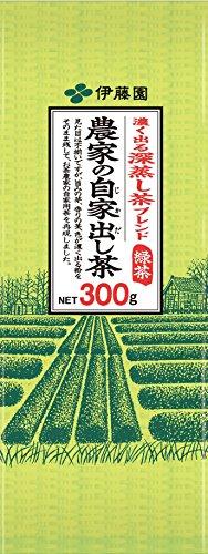 伊藤園 農家の自家出し茶 煎茶 300g