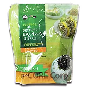 イェマッ食品 韓国味付けのりフレーク 80g×3袋入り