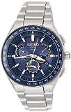 [アストロン]ASTRON 腕時計 ASTRON GPSソーラー  EXECUTIVE LINE デュアルタイム チタンモデル SBXB155 メンズ