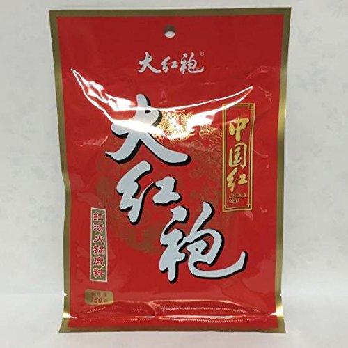 大紅袍(だいこうほう)鍋の素 紅湯火鍋底料 辛口中華スープの素 しゃぶしゃぶ 150g 中華調味料
