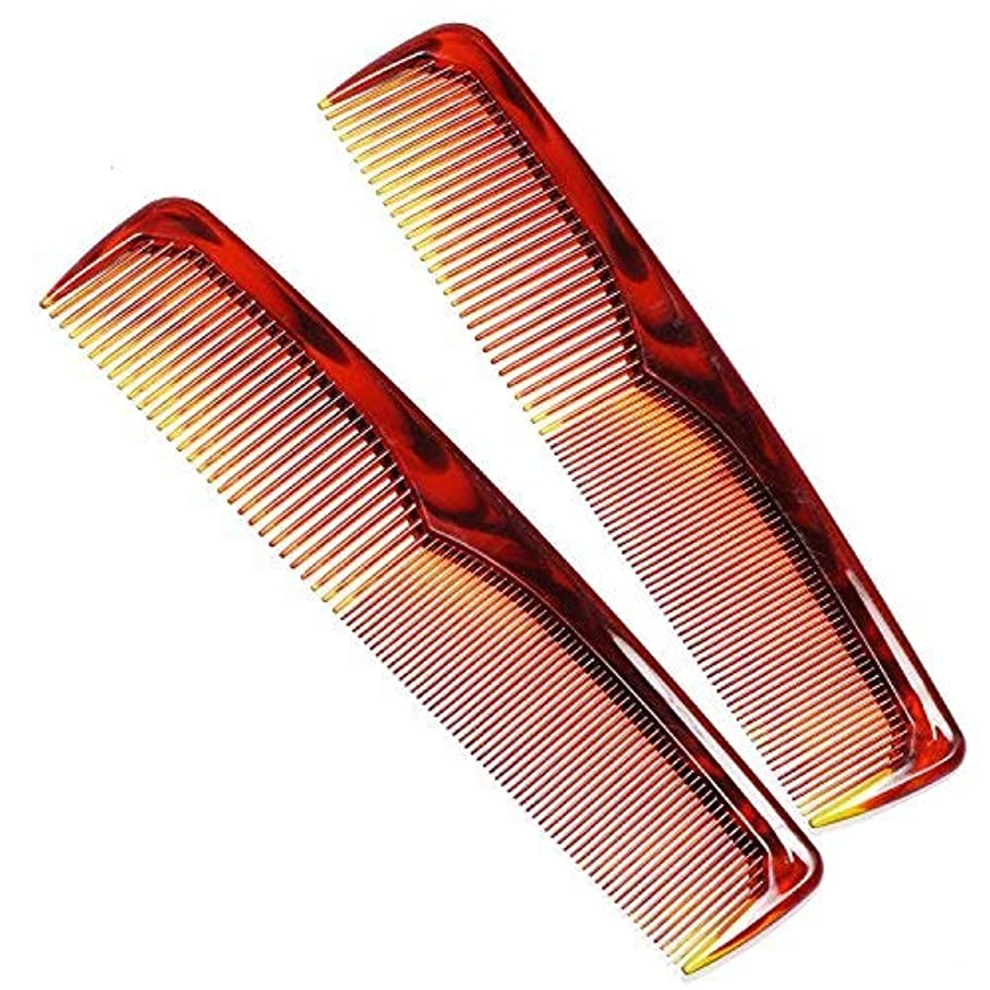 給料有力者血統Birch 2 Pack Coarse/Fine Combo Hair Comb. 9 X 1.5 Inches [並行輸入品]