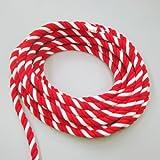 紅白ロープ 太さ2cm 長さ10m
