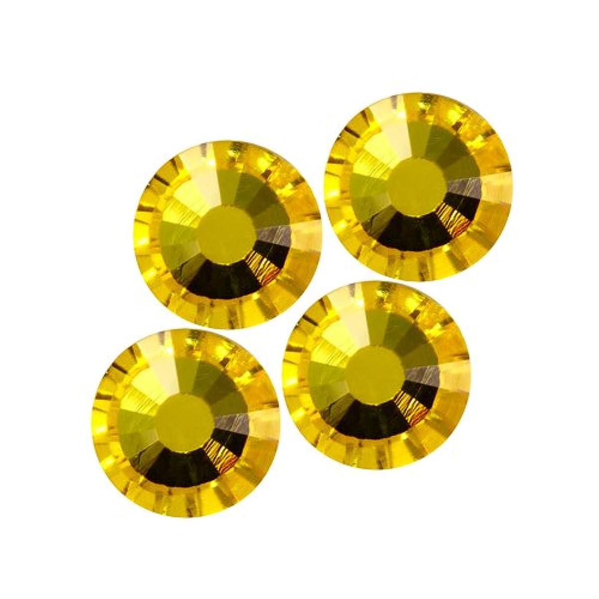 九十一シミュレートするバイナル DIAMOND RHINESTONE シトリンSS6 1440粒 ST-SS6-CIT-10G