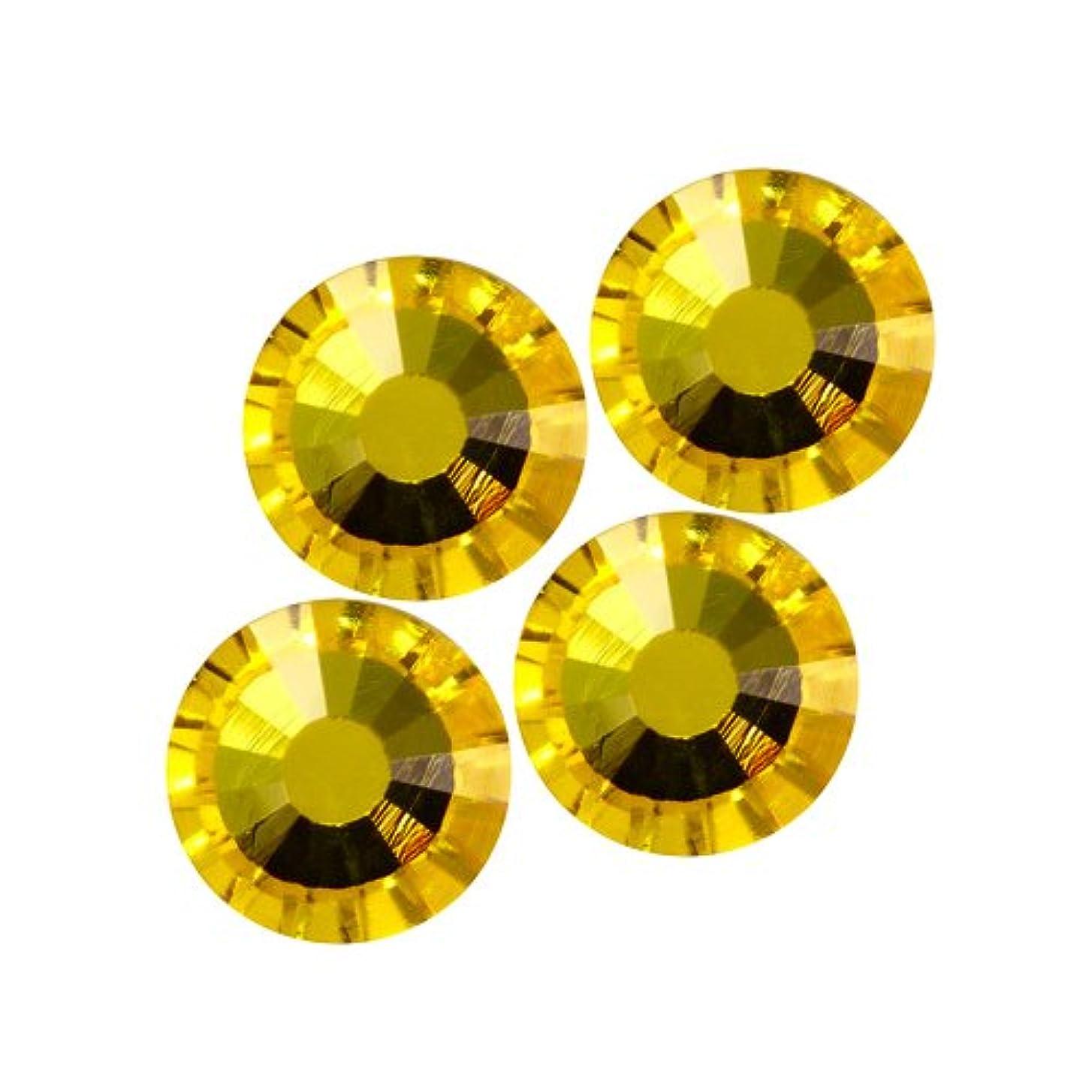 祖母イチゴレタッチバイナル DIAMOND RHINESTONE シトリン SS16 720粒 ST-SS16-CIT-5G